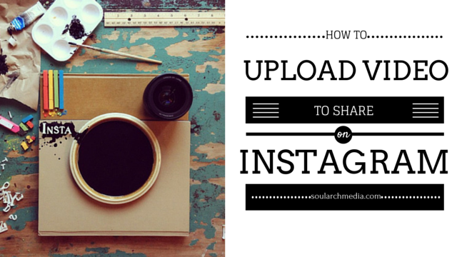 How to add video to Instagram