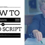 How To Write A Video Script - simple tips to help you get scripts for your business video productions done with ease! [ Includes Free Script Template]