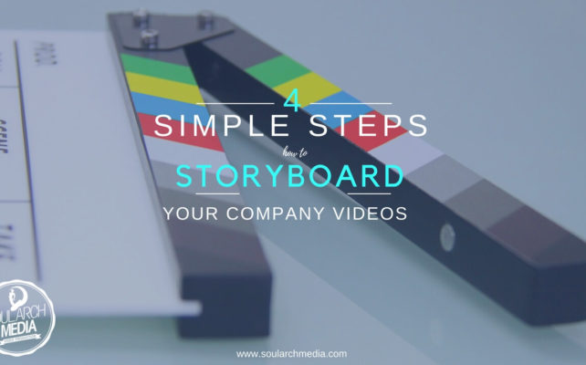 How To StoryBoard Videos - 4 simple steps to storyboard your next production